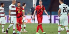 De Bruyne op tijd fit voor kraker tegen Italië, Eden Hazard niet