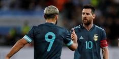 Messi en Agüero geven voorproefje aan Barça-fans