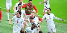 Engeland schakelt laatste groep des doods-overlever Duitsland uit
