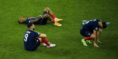 Bizar: Familieleden Franse spelers ruziën op tribune