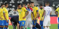 Rode kaart na karatetrap deert Brazilië niet in Copa América