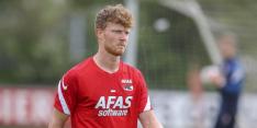 AZ verlengt contract van Druijf en zwaait hem ook gelijk weer uit
