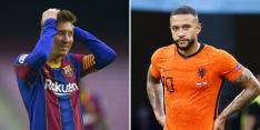 'FC Barcelona mag Messi en Memphis vooralsnog niet inschrijven'