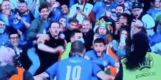 Hilarisch: steward ziet verdediger Bonucci aan voor wilde fan