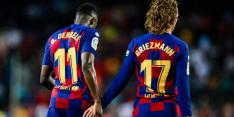 Barça hard voor Dembélé & Griezmann: 'Geen plaats voor racisme'