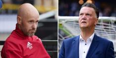 """Ten Hag pleit voor Van Gaal: """"Nodig dat de boel wordt opgeklopt"""""""
