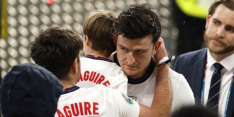 Vader Maguire brak twee ribben door Wembley-chaos