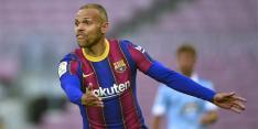 'Braithwaite denkt niet aan Barça-vertrek door torenhoog salaris'