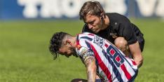 """Willem II-er Llonch schreeuwt het uit: """"Ziet er niet zo goed uit"""""""