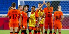 Leeuwinnen walsen over China heen en treffen VS in kwartfinale