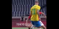 Video: Antony trekt trukendoos open op Olympische Spelen