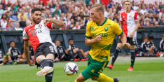 Feyenoord blameert zich met remise tegen gedegradeerd ADO