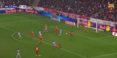 Flipperkastgoal: Braithwaite maakt 'per ongeluk' gelijk voor Barça