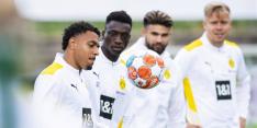 Dortmund zonder Malen tegen Bayern; ook Boadu op de bank