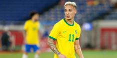 Goede vorm Antony nog niet beloond met debuut voor Brazilië