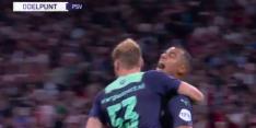 Video: Vertessen en Götze maken afstraffing voor Ajax compleet