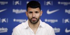 "Agüero na vertrek Messi bij FC Barcelona: ""Ik was in shock"""