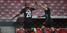 Benfica laatste horde PSV na nieuwe zege op Spartak