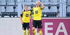Malen debuteert voor BVB tijdens Haaland-masterclass