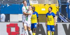 Wereldgoal Strand Larsen verpest Eredivisie-rentree Cambuur