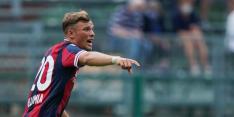 Blamage debutant Van Hooijdonk en Bologna tegen Serie B-club