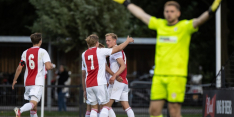 Jong Ajax en Jong PSV geven het weg in extremis