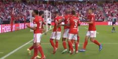 PSV komt na tien minuten op achterstand tegen Benfica