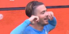 Grealish juicht als Memphis na eerste doelpunt voor Man City