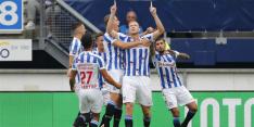 Heerenveen geeft bijna riante voorsprong weg tegen RKC