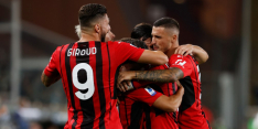 AC Milan kan puntenverlies afwenden door fraaie comeback