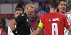Video: Benfica met tien man tegen PSV na domme rode kaart