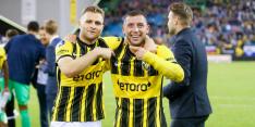 De mogelijke tegenstanders van AZ, Feyenoord en Vitesse