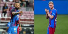 Barcelona neemt zorgen weg over Memphis en De Jong