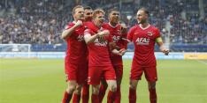 AZ grijpt eerste punten en roept Heerenveen een halt toe