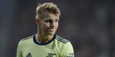 Ødegaard staat met Arsenal stijf onderaan, maar wil CL winnen