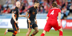 Haaland doet Oranje pijn bij terugkeer Van Gaal