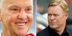 """Van Gaal brengt Koeman in problemen: """"Waar is dat voor nodig?"""""""