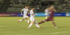 Lionel Messi komt met de schrik vrij na spijkerharde overtreding