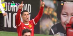 Het moest zo zijn: Ronaldo viert rentree met doelpunt