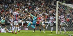 NEC bijt zich in bizar duel stuk op tien man van Willem II