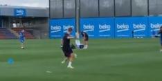Video: Frenkie tovert op het trainingsveld van FC Barcelona