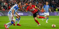 PSV moet genoegen nemen met punt na heerlijk voetbalgevecht