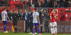 """KNVB steunt Martens: """"Het gooien van spullen moet stoppen"""""""