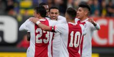 Unicum Ajax: geen club stond deze eeuw sneller op 25