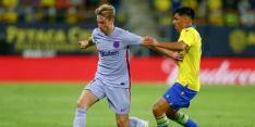 Video: Barça in de problemen na rode kaart Frenkie de Jong