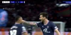 Beauty! Messi maakt op fenomenale wijze eerste PSG-goal