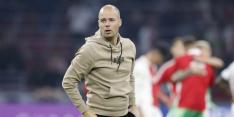 "Geïrriteerde Buijs roept V/d Kerkhof na: ""Een duur foutje"""