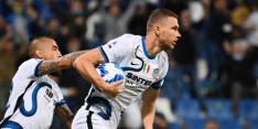 De Vrij en Dumfries blijven met Inter in spoor Napoli