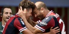 Bologna heeft Van Hooijdonk niet nodig om Lazio af te drogen