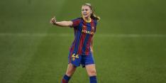Tiki taka en goal Martens: Barça-vrouwen geven goede voorbeeld